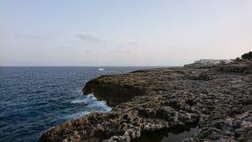Majorca skały wybrzeże Zdjęcie Royalty Free