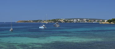 Majorca, Spain, a fragment of coast,nature Stock Images
