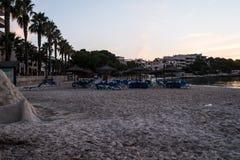 Majorca strand arkivfoto