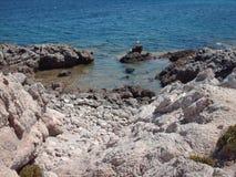Majorca-Strand Stockbild