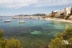 Majorca Strandurlaubsort Stockfotografie