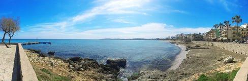 Majorca wycieczka samochodowa, Majorca wyspa, majorca widok, Hiszpania, Europa Fotografia Stock