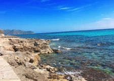 Majorca wycieczka samochodowa, Majorca wyspa, majorca widok, Hiszpania, Europa Zdjęcie Royalty Free