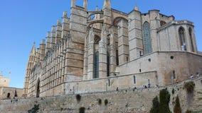 Majorcakathedraal Stock Foto's