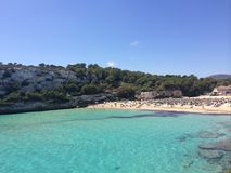 A Majorcan beach Stock Photography
