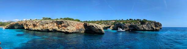 Majorcan coast stock image