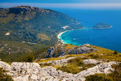 Majorcan northern end - Cap de Formentor Royalty Free Stock Photo