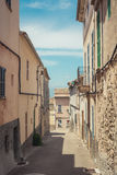 Majorcan street Stock Photography
