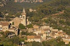 Majorcan village Valldemossa. Located in the Serra de Tramuntana Royalty Free Stock Images