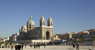 Majore Cathedral, Marseille Royalty Free Stock Photography
