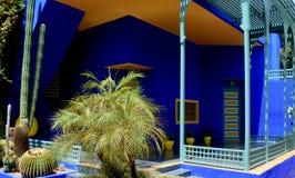 The Majorelle Garden - Marrakech Stock Image