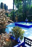 Majorelle-Garten. Marrakesch, Marokko Lizenzfreies Stockfoto