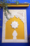 Majorelle Window Stock Photography