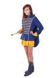 Majorette d'adolescent Photo stock