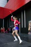 Majorette Marta Jabonska dance-1 Obrazy Royalty Free