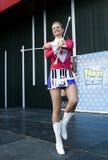 Majorette Marta Jabonska taniec Obrazy Royalty Free
