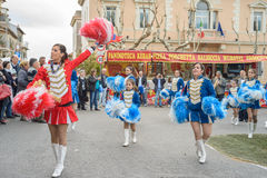 Majorette Royalty Free Stock Images