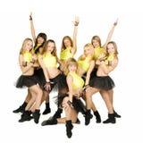 Majorettes Photo libre de droits