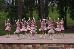 Majorettes del baile Fotografía de archivo