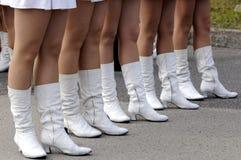 majorettes parada Zdjęcia Royalty Free
