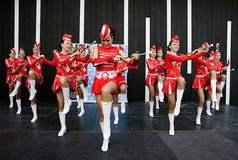 Majorettes from Poland Stock Images