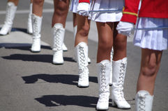 Majorettes Stock Photography