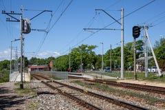 Majori, Letland stock fotografie