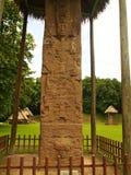 Majowia archeologiczny miejsce Quirigua, Gwatemala - Zdjęcia Stock