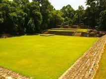Majowia archeologiczny miejsce Quirigua, Gwatemala - Obraz Stock