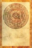 majowia proroctwo royalty ilustracja