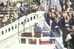 Majowie Angelou i Bill Clinton Obraz Royalty Free
