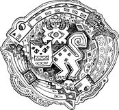 Majowie dekoracja kocia Obraz Royalty Free