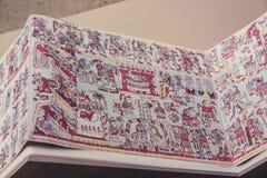 Majowie kalendarz Zdjęcia Royalty Free