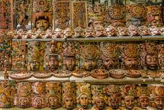 Majowie maski Obrazy Royalty Free