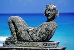 majowie rzeźba Zdjęcia Royalty Free