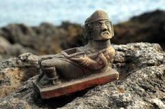 Majowie statua Zdjęcie Royalty Free