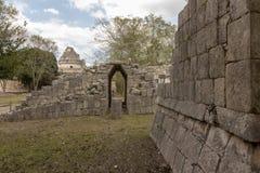 Majska świątynia wojownicy przy Chichen Itza obrazy stock
