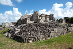 Majska ruina Tulum, Meksyk Zdjęcie Royalty Free