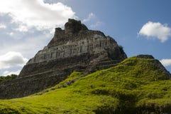 Majska Ruina - Xunantunich w Belize Zdjęcie Royalty Free