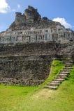 Majska Ruina - Xunantunich w Belize Obraz Stock