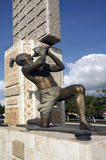 Majska statua przy Museo Del Mundo Majowie Zdjęcie Royalty Free
