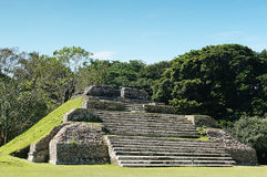Majskie ruiny Belize, Meksyk Fotografia Stock