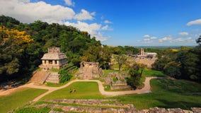 Majskie ruiny w Palenque, Chiapas, Meksyk obraz royalty free