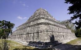 Majskie Ruiny zbliżać Costa Majowie Meksyk Zdjęcie Royalty Free