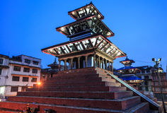 Maju Deval, Durbar Square, Kathmandu, Nepal Stock Photo