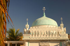 Majunga mosque Royalty Free Stock Photography