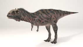 Majungasaurus-dinosaurie Fotografering för Bildbyråer