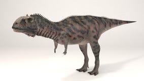 Majungasaurus-dinossauro Imagem de Stock