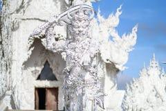 Mak海岛酸值Mak Trat ThailandRong Khun寺庙, Wat荣Khun,白色寺庙, Chiangrai泰国 库存图片