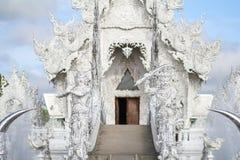 Mak海岛酸值Mak Trat ThailandRong Khun寺庙, Wat荣Khun,白色寺庙, Chiangrai泰国 免版税库存图片